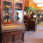 Antique desks, secretaries, tables, chairs, and period furniture