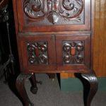Mahogany Record Cabinet