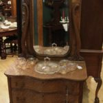 Quartersawn Oak Dressing Table