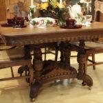 Quartersawn Oak Victorian Table