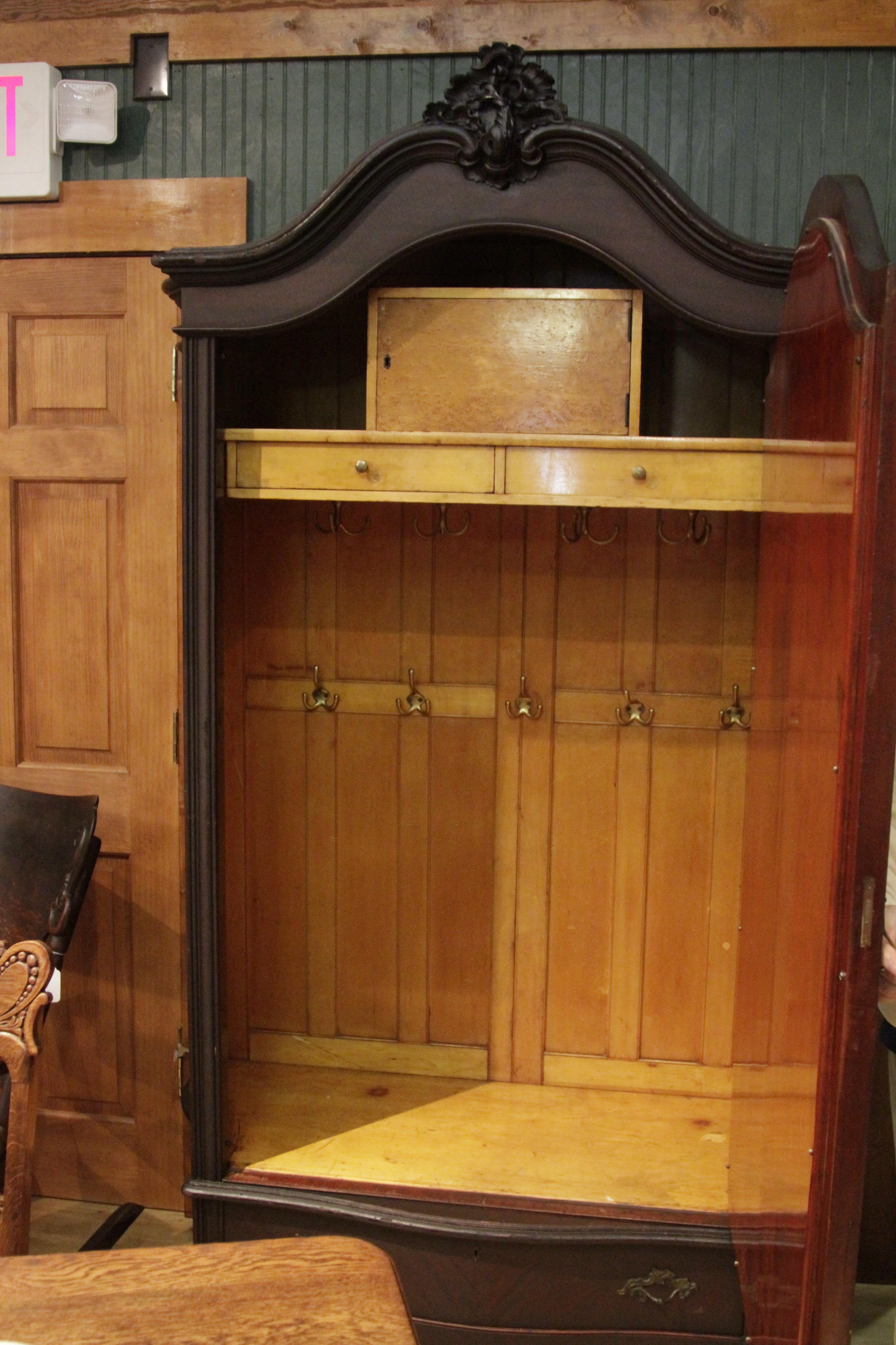 Mahogany Victorian Wardrobe