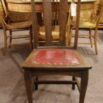 5 Quartersawn Oak Chairs
