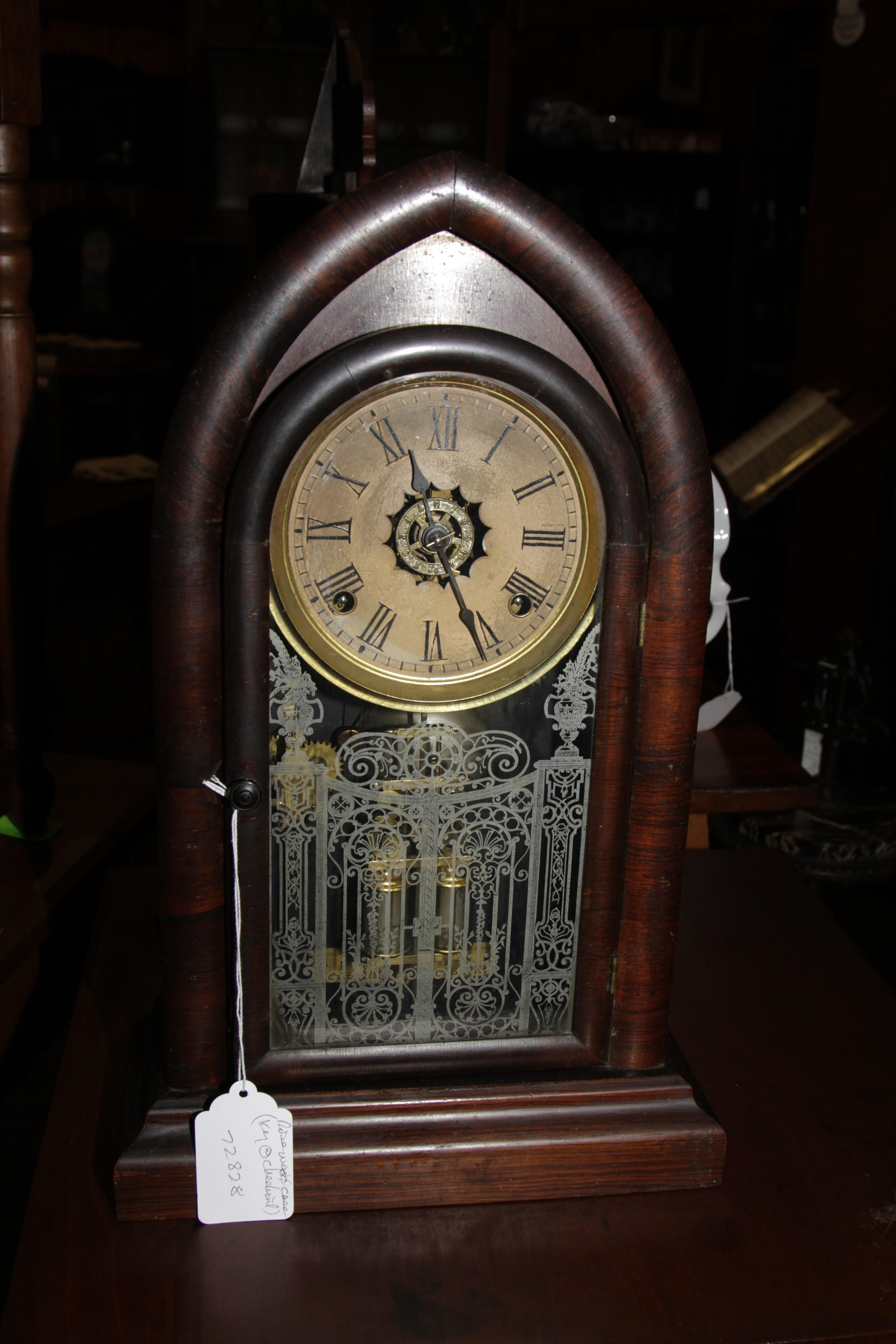 8 Day Ansonia Mantle Clock