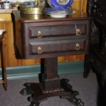 Mahogany Sewing Stand