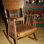 Quarter Sawn Oak Rocker