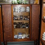 Quarter Sawn Oak China Cabinet